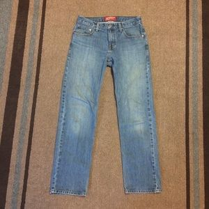Arizona Jean Co Blue Jeans Denim Original Straight